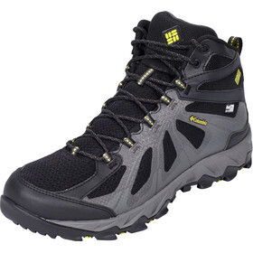 Columbia Peakfreak XCRSN II XCEL Mid Outdry Shoes Men black/zour